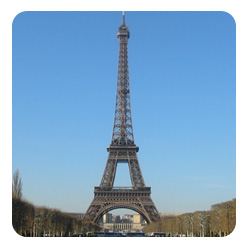 Eiffel Tower is the symbol of Paris : See other places of interest