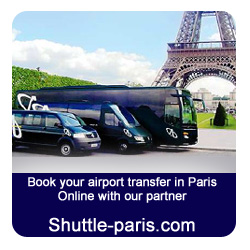 Book your transportation from or to Beauvais, CDG and Orly online